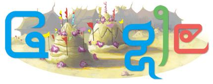 Google Logo: 2011 Songkran festival