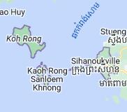 Mapa de Sihanoukville Camboya